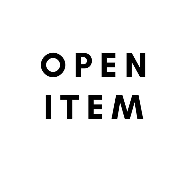 Open item