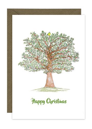 Christmas Oak